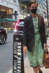 Rebecca Hall - Out in New York 10/06/2021