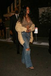 Rihanna at The San Vicente Bungalows in West Hollywood 10/05/2021