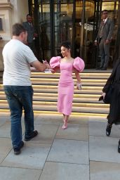 Ruth Negga - Leaving Her Hotel in London 10/10/2021