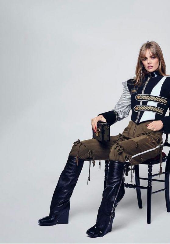 Samara Weaving – Portrait for the Louis Vuitton Women's Collection Show in Paris October 2021