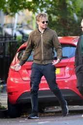 Saoirse Ronan With Boyfriend Jack Lowden - London 10/03/2021