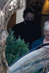 "Scarlett Johansson - ""Asteroid City"" Set in Madrid 10/10/2021"