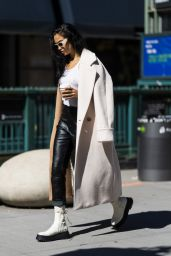 Shanina Shaik - Out in NYC 09/29/2021