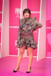 Shirine Boutella – 4th CANNESERIES Festival Pink Carpet 10/09/2021