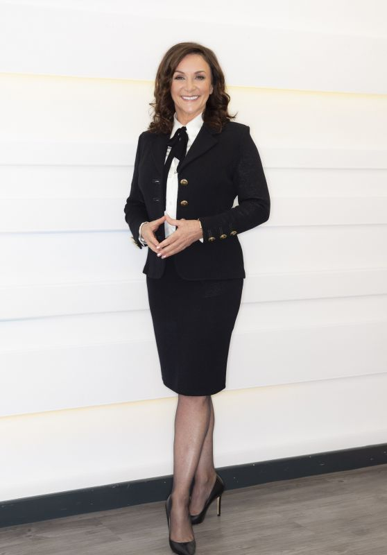 """Shirley Ballas - """"This Morning"""" TV Show in London 10/14/2021"""