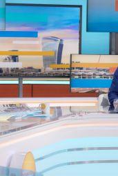 Susanna Reid - Good Morning Britain TV Show in London 10/04/2021