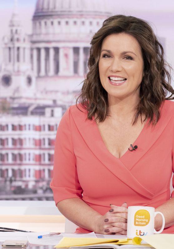 Susanna Reid - Good Morning Britain TV Show in London 10/21/2021