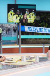 Susanna Reid, Patsy Stevenson and Ellie Flynn - Good Morning Britain TV Show in London 10/11/2021