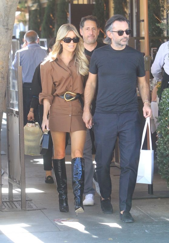 Sylvie Meis - Shopping in Beverly Hills 10/15/2021