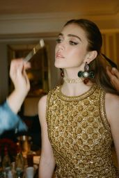 Talia Ryder - Photoshoot for Paris Fashion Week by Anthony Vaccarello September 2021