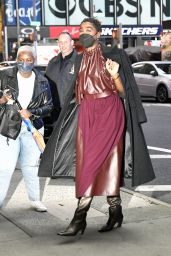 Tashana Lynch - Arrives at ABC Studios in New York City 10/06/2021