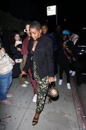 Tiffany Haddish - Arrives at Cardi B's 29th Birthday Party in LA 10/11/2021