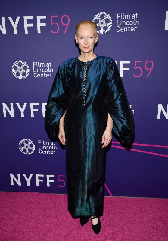 "Tilda Swinton - 59th New York Film Festival Closing Night Premiere of ""Parallel Mothers"" 10/08/2021"