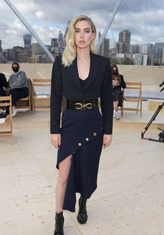 Vanessa Kirby - Alexander McQueen Show at Tabacco Dock in London 10/12/2021