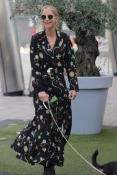 Vogue Williams - Steph Pack Lunch Studios in Leeds 10/08/2021