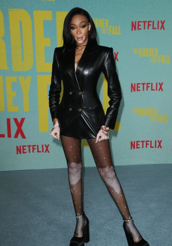 """Winnie Harlow – """"The Harder They Fall"""" Special Screening in LA"""