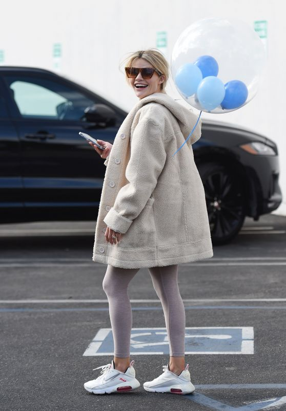 Witney Carson at DWTS TV Show Rehearsals in LA 10/08/2021
