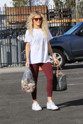 Witney Carson at the DWTS Studio in LA 10/10/2021