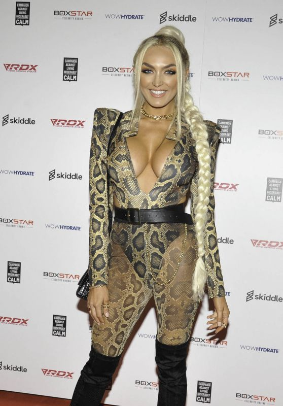 Zaralena Jackson – Boxstar Celebrity Boxing at Manchester Arena 10/02/2021