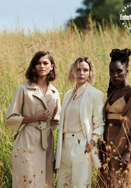 Zendaya, Rebecca Ferguson, Sharon Duncan Brewster and Timothée Chalamet - Entertainment Weekly October 2021