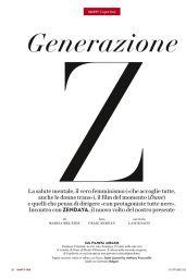 Zendaya - Vanity Fair Magazine Italy 10/13/2021 Issue
